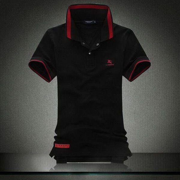 ralph lauren online outlet Burberry Print Stand Collar Short Sleeve Men's Polo Shirt Black http://www.poloshirtoutlet.us/
