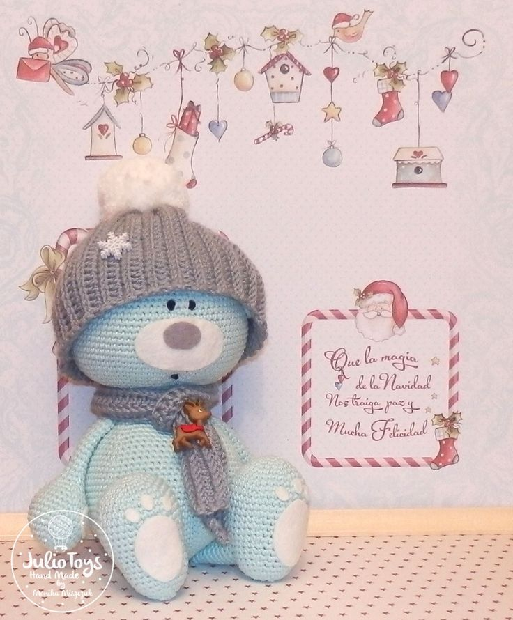 Crochet Teddy Bear by Julio Toys