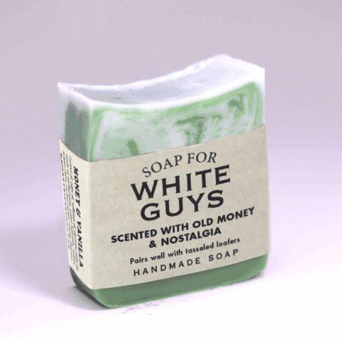 Soap for White Guys