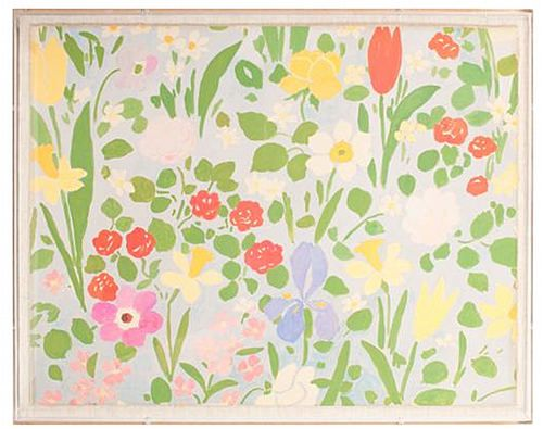 Paule MarrotPaul Marrot, Artists Paul, Gracious Style, Bedrooms Wallpapers, Textiles, Vintage Floral, Marrot Daffodils, Nature Curiosity, Daffodils Reproduction