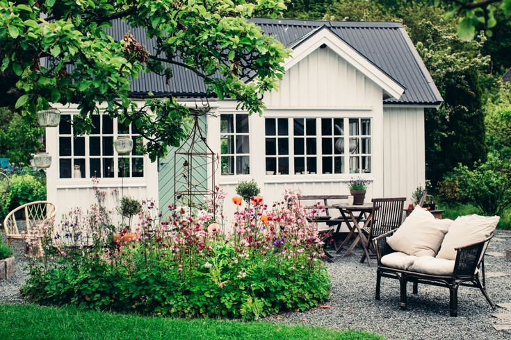 the perfect scandinavian allotment garden in Göteborg, via http://www.scandinavianlovesong.com/