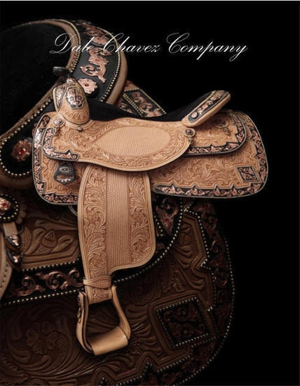 Dale Chavez Custom Show Saddles