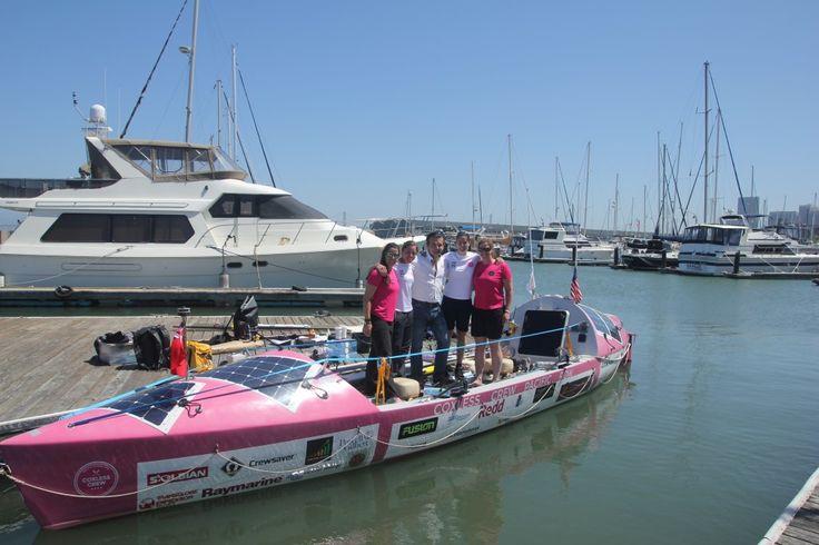 Blog : Coxless Crew   Pacific Ocean Row 2015