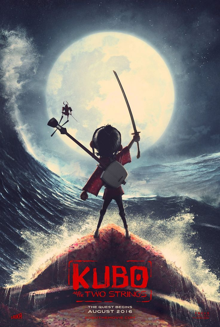 Kubo and the Two Strings (2016) Film Poster