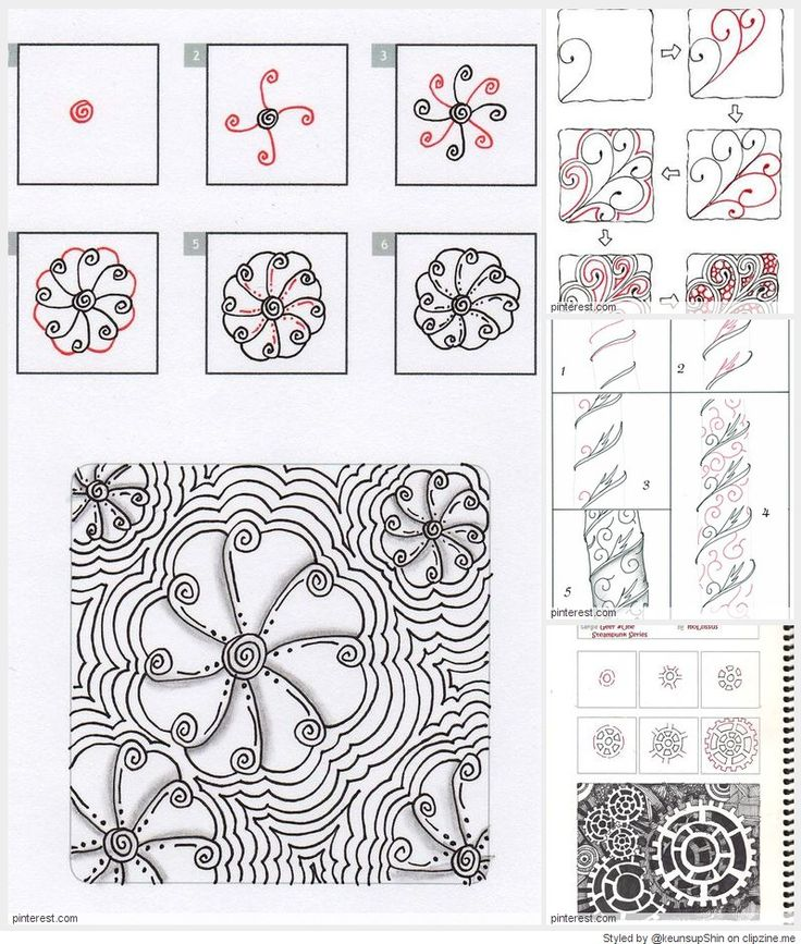 Best images about tangle patterns on pinterest
