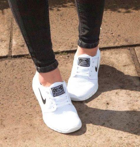 Nike white Air Max Thea- Nike running shoes…
