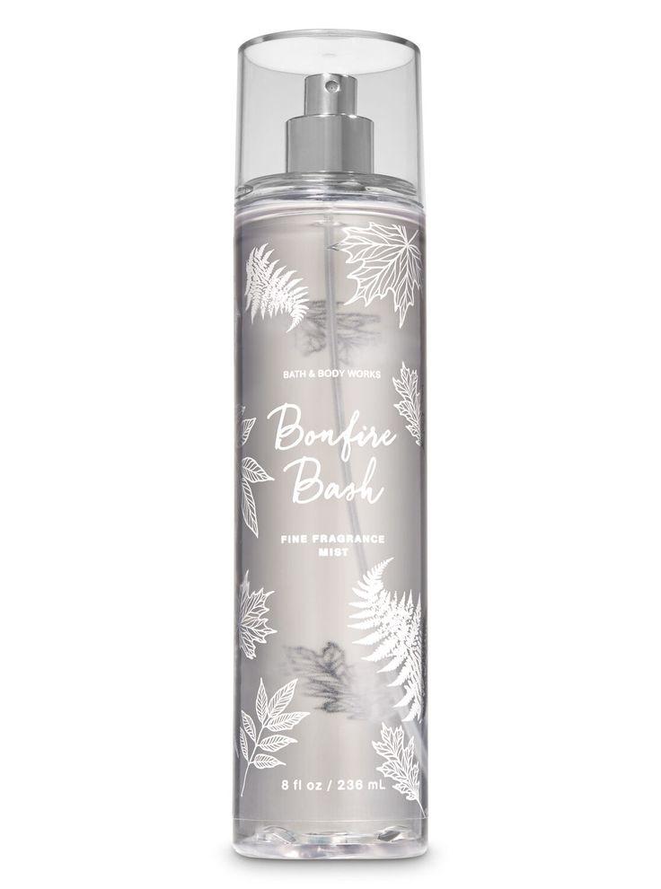 Bonfire bash fine fragrance mist by bath body works
