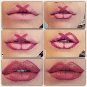 Immagine Contouring labbra voluminose - Lei Trendy