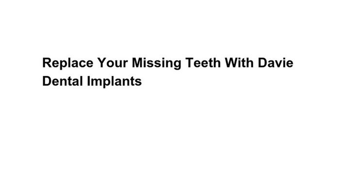 For single tooth replacement, a computer device generally known as abutment that attaches the particular implant on the overhead can be mounted on the particular Dental Implants In Fort Lauderdale.