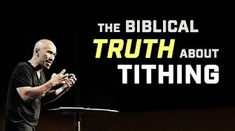 (27) Francis Chan - Says No to Tithing - YouTube