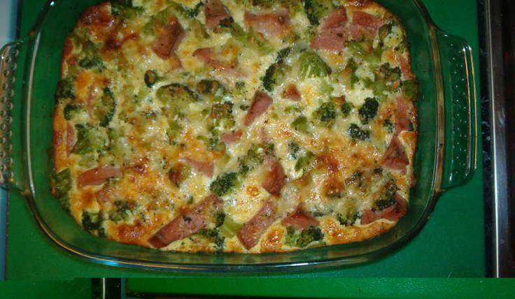 LCHF-Broccoli/ falukorvsgratäng - fiesta06 - Recept