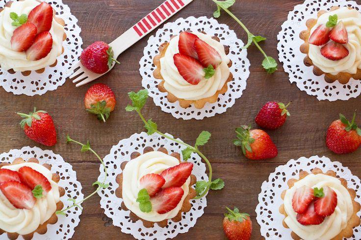 Tortinha de Morango | Vídeos e Receitas de Sobremesas