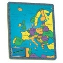 Europe continent puzzle