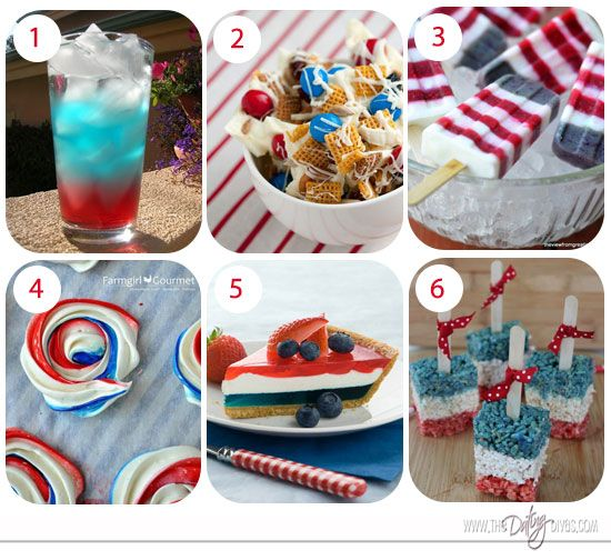 50  Fun Fourth of July Foods