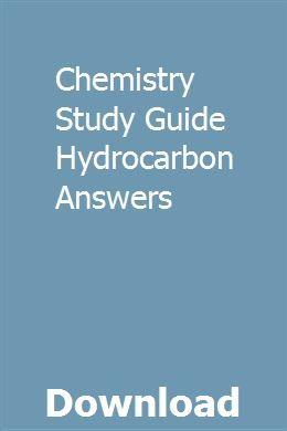 Chemistry Study Guide Hydrocarbon Answers   clichcallcingma