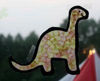 kids dinosaur craft