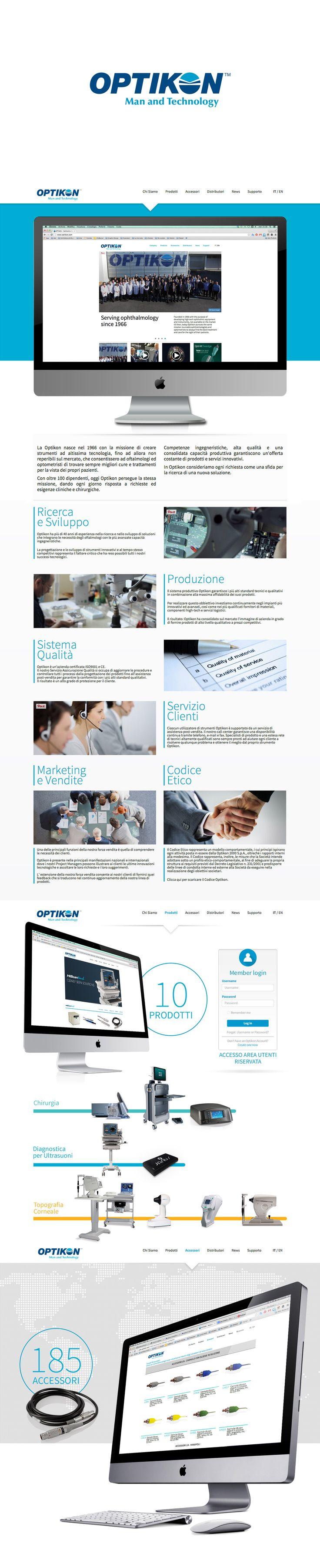 #Optikon Company Website #Dandelio