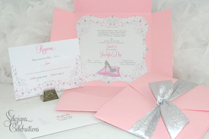 quinceanera themes 2013 | Glass Slipper Princess Quinceanera or Sweet 16 by SDezigns on Etsy