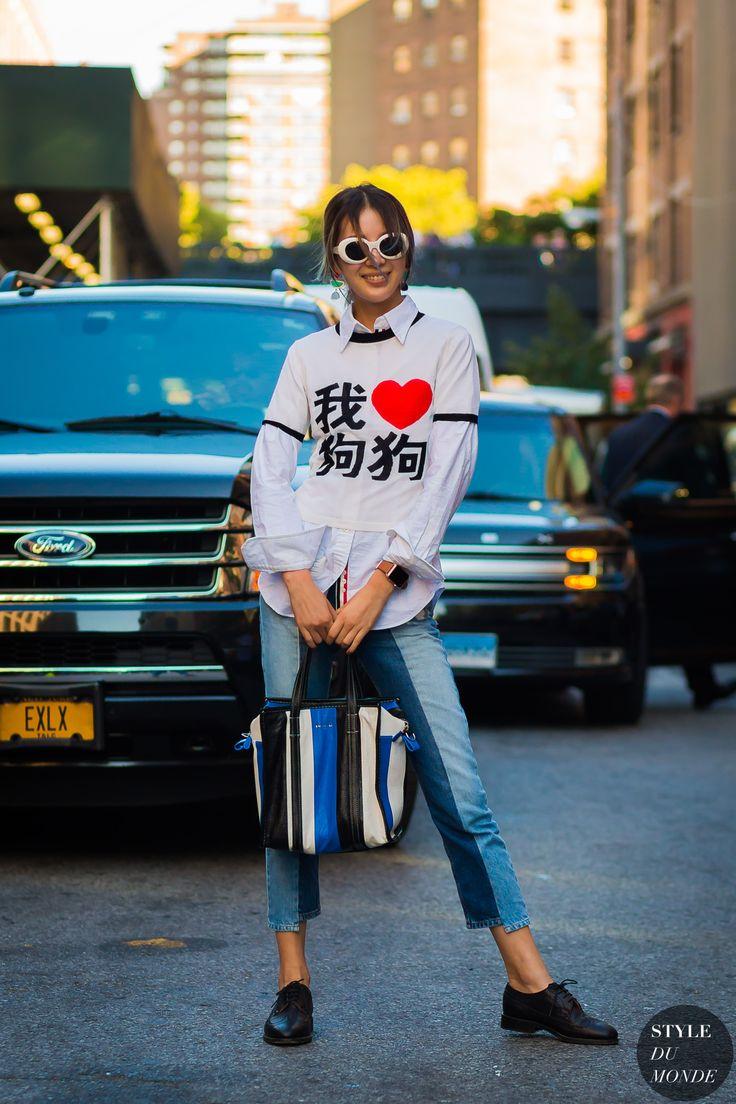 New York SS 2017 Street Style: Irene Kim