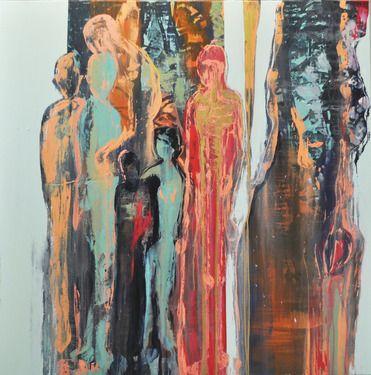 "Saatchi Online Artist Mia Helgesen; Painting, ""July 22 - to hold"" #art"