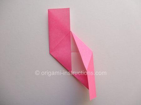 Origami Magie Rose Cube Etape 10