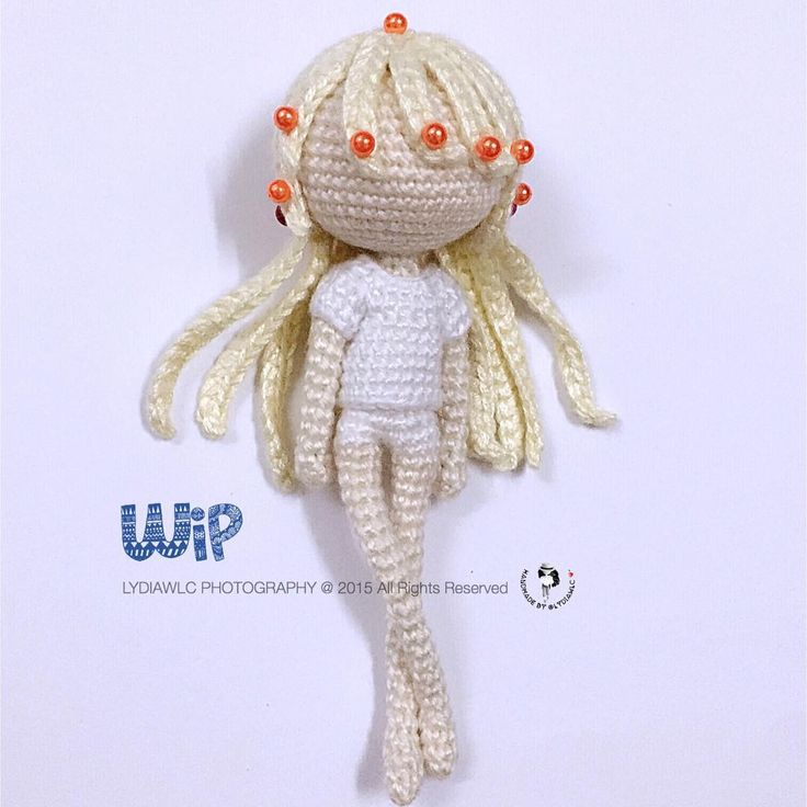 Amigurumi Doll Hair Tutorial : Best amigurumi doll hair images on pinterest diy