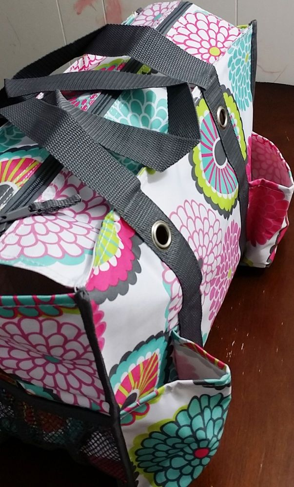 Thirty One 31 ZIP Top ORGANIZING Utility Tote New in Package #ThirtyOne #TotesShoppers