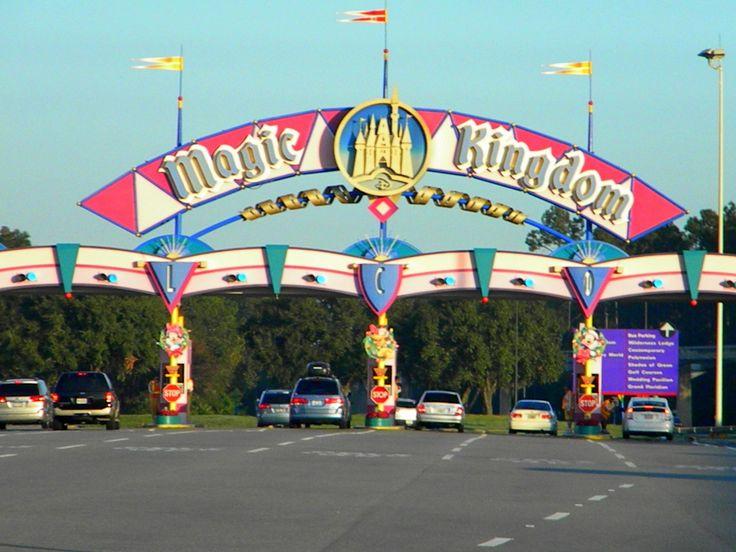 When Should You Tell the Kids You are Going to Disney? (article): Kingdom Entrance, Walt Disney, Disneyworld Magic Kingdom, Disney Pixar, Disney Vacation, Disney Magic Kingdom, Disney Worlds