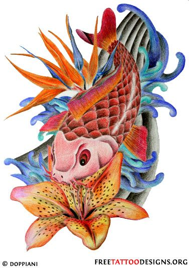142 best images about on pinterest pisces watercolor fish and koi. Black Bedroom Furniture Sets. Home Design Ideas