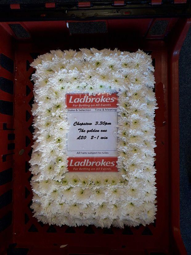 Betting slip funeral flowers trade binary options demo account