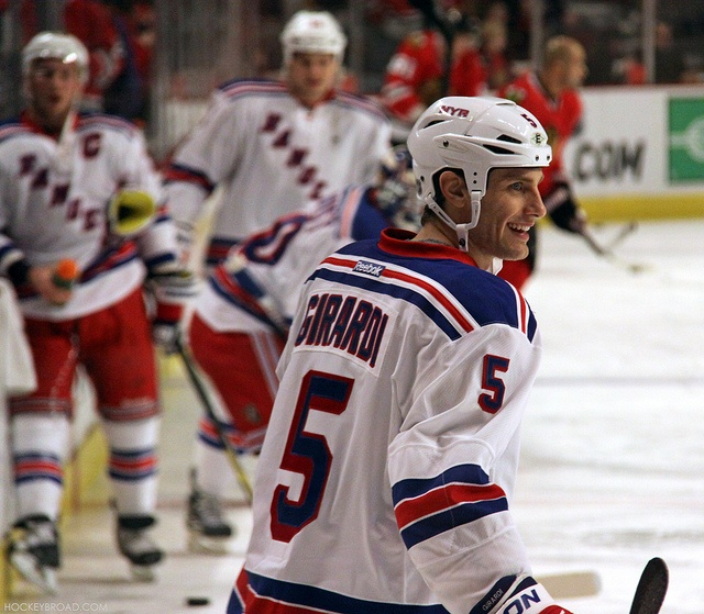 Girardi !!!!!! <3 hockey players <3