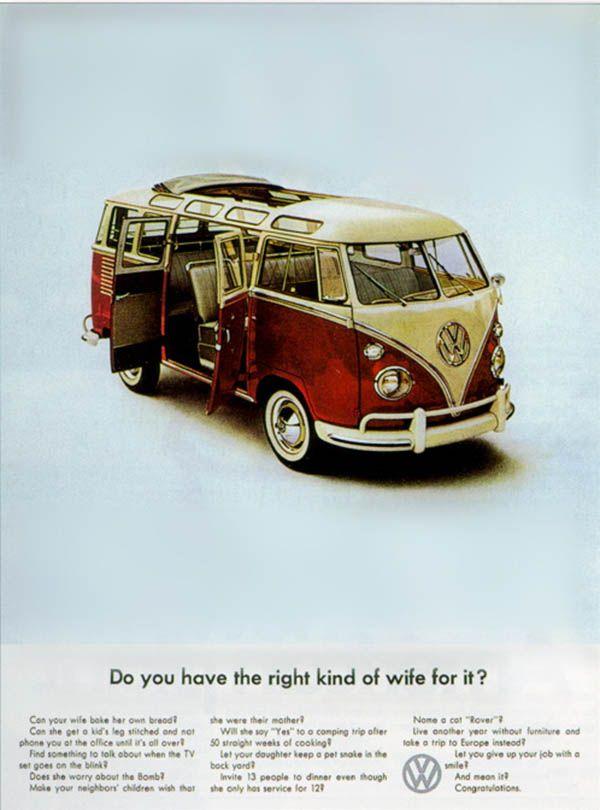 IlPost: le vecchie pubblicità del Volkswagen T2