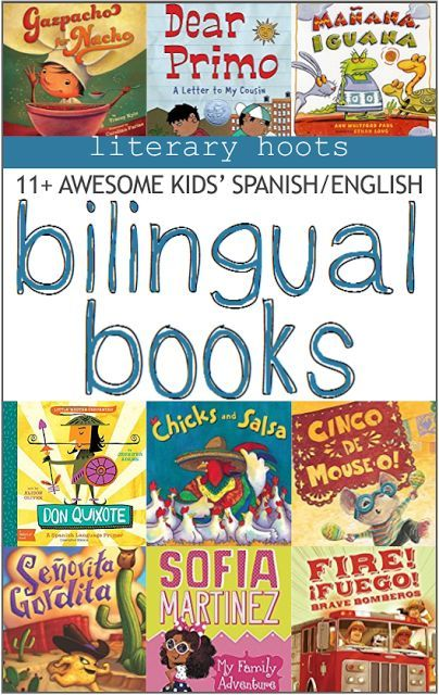 Books in English and Spanish to help you bridge you language learning.