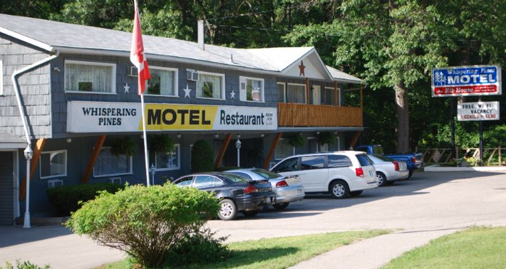 Whispering Pines Motel & Restaurant - Accommodations, Motels - Tourism Sarnia Lambton