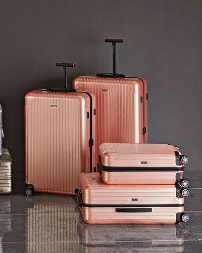 Rose Gold Hardside Luggage.Yes, please!