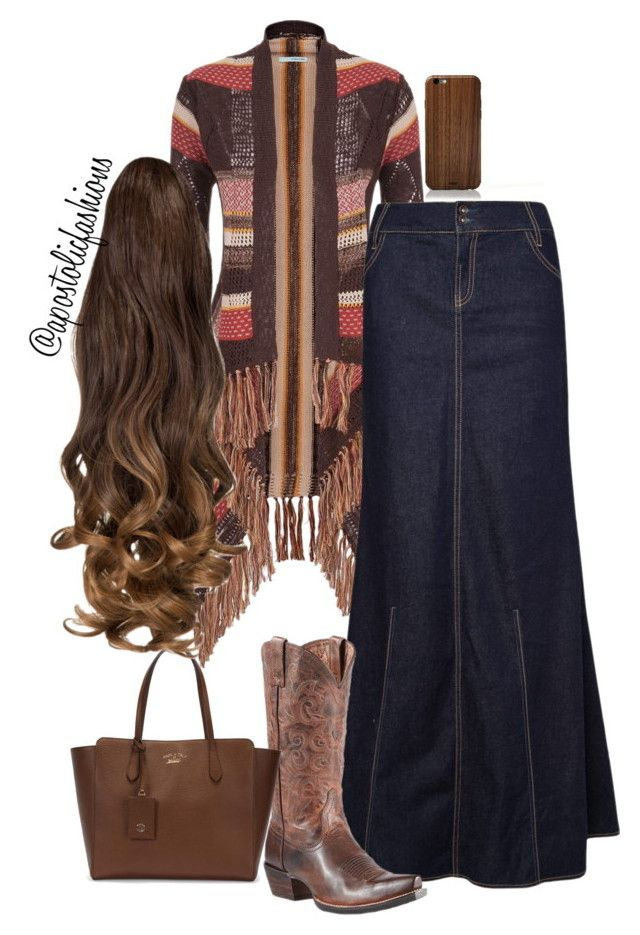 """""""Apostolic Fashions #802"""" by apostolicfashions on Polyvore featuring maurices, MANGO, Ariat, Gucci and Toast"""