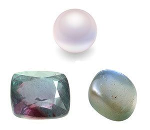 Did you know there is more than one June birthstone? Discover the beauty of Pearl, Alexandrite and Moonstone at AmericanGemSociety.org.