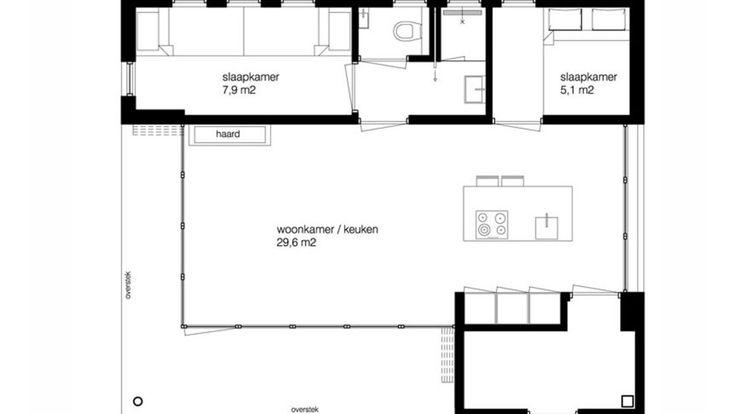 Architect nodig voor het ontwerp van een vakantiewoning? Bekijk eerdere voorbeelden van BNLA Architecten. Neem contact op