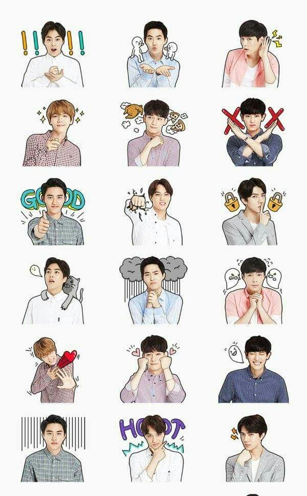 Ofc lay is the scared sticker he's such a scaredy cat
