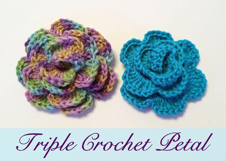 Triple Crochet Flower