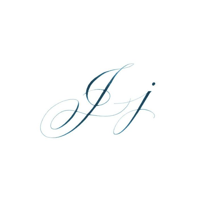Best 25 letter j tattoo ideas on pinterest j tattoo j Difference between calligraphy and typography