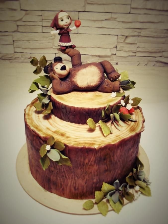 13 best Mason party images on Pinterest Bear cakes Masha and
