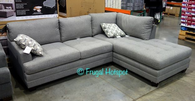Costco: True Innovations Fabric Sofa Chaise $799.99 | Gots to Get It ...