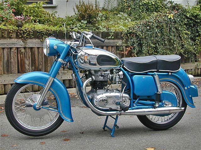 zundapp motorcycles   restored Zundapp Citation w/original telescopic front end