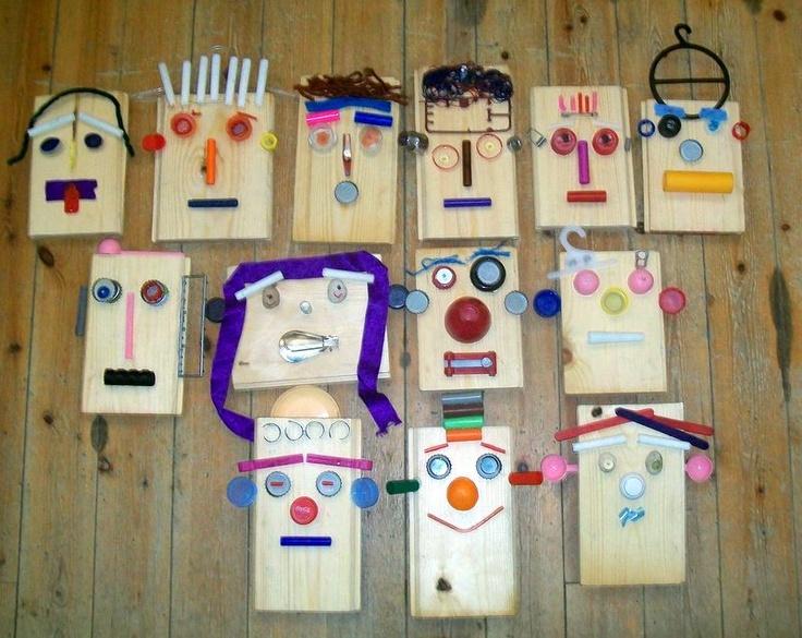 Wood Craft Ideas For Kids Part - 22: Scrap Wood Craft