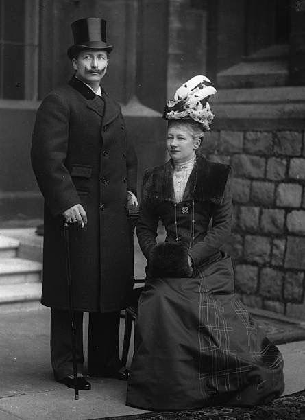 Kaiser Wilhelm and Kaiserin Augusta Victoria of Germany