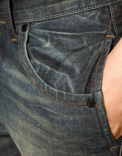 DOUBLE POCKET JEANS - Jeans - Man - ZARA United States: Guys can tend to over stuff their pockets.... so why not two?