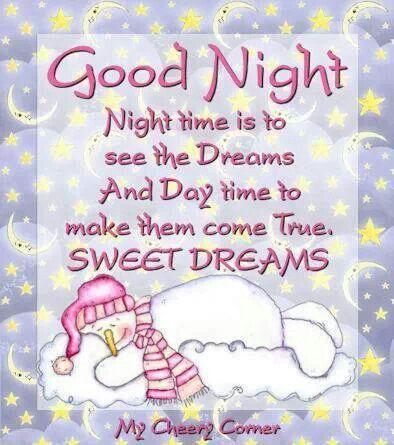 Sweet Dreams...:)