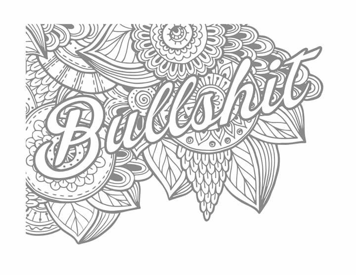 17 Best Images About Swear Word Coloring On Pinterest