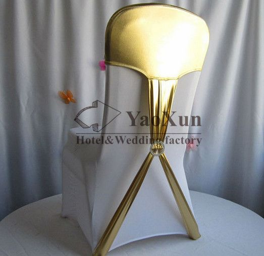 Cheap cap full, Buy Quality cap screen directly from China cover ereader Suppliers: Gold Coated Bronzing Strech Spandex Chair Hood \ Chair Cap Cheap Wedding Spandex Chair Cover
